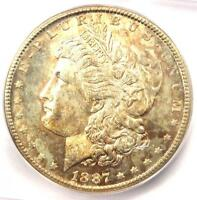 1887-S MORGAN SILVER DOLLAR $1 COIN - ICG MINT STATE 65 -  IN MINT STATE 65 - $2,030 VALUE