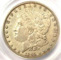 1895-O MORGAN SILVER DOLLAR $1 - ANACS AU50 DETAILS -  DATE CERTIFIED COIN