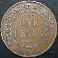 1915 | AUSTRALIA ONE PENNY | COINS | KM COINS