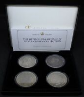 THE GEORGE III & GEORGE IV SILVER CROWN COLLECTION | COIN SETS | KM COINS