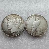 1922 DOUBLE HEAD PEACE LIBERTY COIN AMERICAN COMMEMORATIVE  COIN COLLECTION US