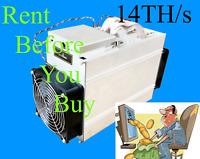 BITCOIN MINING CONTRACT 1HR 14TH  14 000GH  SHA256 S9I ANTMINER BUY1 OR BUY1000