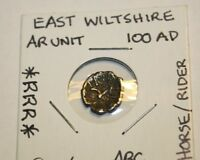CELTIC EAST WILTSHIRE SILVER UNIT::HORSE AND RIDER::LY :::RRR