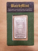 Click now to see the BUY IT NOW Price! BAIRD & CO. 1 OUNCE RHODIUM 1 OZ BAR SEALED IN ASSAY CARD NICE