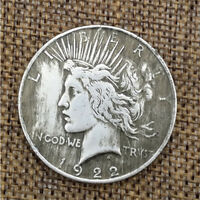 SILVER EAGLE COIN UNITED STATES OF LIBERTY AMERICAN COINS USA 1922 COLLECTION