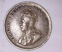 1932 CANADIAN CIRCULATED GEORGE V ONE  SMALL CENT COIN