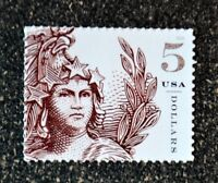 2018USA 5297 $5.00 STATUE OF FREEDOM   BROWN   MINT  NH