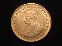 1928 CANADA PENNY HIGH GRADE SOME RED LUSTER