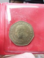 WESTERN SAMOA 1 TALA KM57 1984 KING FRUIT  DATE PACIFIC CURRENCY MONEY COIN