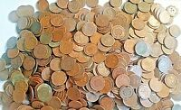 100 CULL INDIAN HEAD CENTS - 2 ROLLS - BUY IT NOW IS FOR 100 INDIAN PENNIES