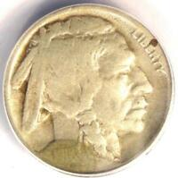 1918/7-D BUFFALO NICKEL 5C - ANACS AG3 DETAILS -  OVERDATE VARIETY COIN