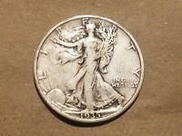 1935 S WALKING LIBERTY HALF DOLLAR SILVER COIN 50 CENTS WALKER 50C 1/2 NICE