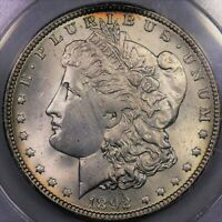 1892 O $1 MORGAN SILVER DOLLAR ANACS MS 63