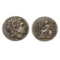 ANCIENT ALEXANDER III THE GREAT GREEK COIN 336 323 BC DRACHM COIN COMMEMORA