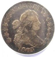1803 DRAPED BUST HALF DOLLAR 50C LARGE 3 - ANACS VF20 -  CERTIFIED COIN