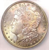 1881-O MORGAN SILVER DOLLAR $1 COIN - ICG MINT STATE 65 -  IN MINT STATE 65 - $1,470 VALUE
