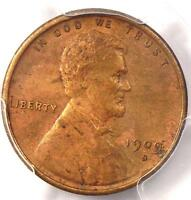 1909-S VDB LINCOLN WHEAT CENT 1C - PCGS AU DETAILS -  DATE CERTIFIED PENNY