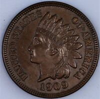 1909 INDIAN CENT   MS BN CHOICE  BU NICE STRIKE
