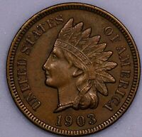 1903 INDIAN HEAD PENNY BU  BROWN     I831