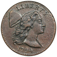 1794 LIBERTY CAP LARGE CENT HEAD OF 1794 S 22 NGC XF DETAILS
