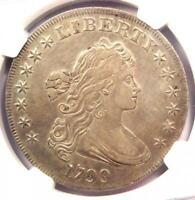 1799 DRAPED BUST SILVER DOLLAR $1 BB-157 B-5 - NGC EXTRA FINE  DETAILS EF -  COIN