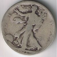 1923 S WALKING LIBERTY HALF DOLLAR 50 CENTS SILVER COIN 1/2 NICE FIFTY CENT
