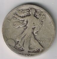 1920 S WALKING LIBERTY HALF DOLLAR 50 CENTS SILVER COIN 1/2 NICE FIFTY CENT