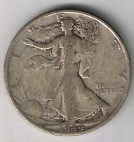 1944 S WALKING LIBERTY HALF DOLLAR 50 CENTS SILVER COIN 1/2 $1 NICE FIFTY CENT
