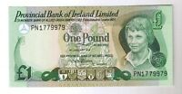 1979 NORTHERN IRISH 1 POUND NOTE PROVINCIAL BANK OF IRELAND LIMITED P 247B UNC