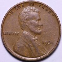 1931 LINCOLN WHEAT CENT PENNY                   J2AC