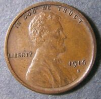 1916 S LINCOLN WHEAT CENT 1C SHIPS FREE