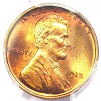 1913 PROOF LINCOLN WHEAT CENT PENNY 1C - PCGS PR66 RD PF66 - $3,600 VALUE