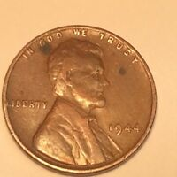 1944 P LINCOLN WHEAT CENT IN UNCIRCULATED CONDITION K2A