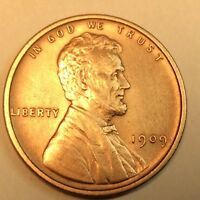 1909 P LINCOLN WHEAT CENT IN UNCIRCULATED CONDITION Z16L