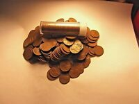 1948-D LINCOLN WHEAT CENT  ROLL  AVERAGE TO BETTER GRADE  HAND PICKED