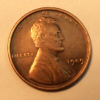1909 P LINCOLN WHEAT CENT  IN AU CONDITION   V6A