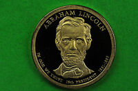 2010-S GEM PROOF ABRAHAM LINCOLNDEEP CAMEO US PRESIDENTIAL ONE DOLLAR COIN