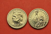 2011 P&D  BU MINT STATEANDREW JOHNSON US PRESIDENTIAL ONE DOLLARS 2 COINS