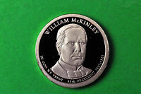 2013-S GEM PROOF  WILLIAM MCKINLEY DEEP CAMEO US PRESIDENTIAL ONE DOLLAR