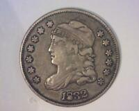1832 CAPPED BUST HALF-DIME FILLED 8 CHOICE  FINE  45312465-RRHY
