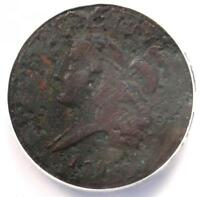 1793 LIBERTY CAP FLOWING HAIR HALF CENT 1/2C C-3 - ANACS VG8 DETAIL -  COIN