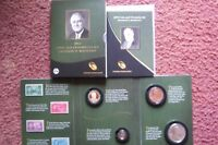 2014 FRANKLIN D ROOSEVELT COIN AND CHRONICLES SET