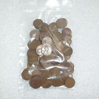WHEAT PENNIES LOT 100 UNREHEARSED LINCOLN WHEAT CENTS