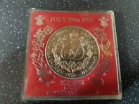 VERSION LADY DIANA & PRINCE OF WALES WEDDING 1981 COMMEMORATIVE COIN MEDAL