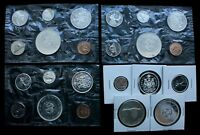 CANADA PROOF LIKE COIN LOT   MIXED LOT OF PROOF LIKE CANADIA