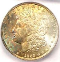 1889 MORGAN SILVER DOLLAR $1 - ICG MINT STATE 65 -  DATE IN MINT STATE 65 - $375 VALUE