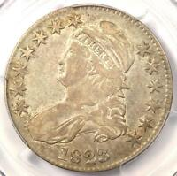1823 CAPPED BUST HALF DOLLAR 50C - PCGS VF30 -  CERTIFIED COIN