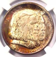 1936 LONG ISLAND NEW YORK HALF DOLLAR 50C - CERTIFIED NGC MINT STATE 67 - $4,800 VALUE