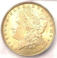 1897-O MORGAN SILVER DOLLAR $1. ICG AU58 - NEAR MS UNC.  DATE CERTIFIED COIN