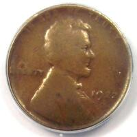 1922 NO D STRONG REVERSE LINCOLN WHEAT CENT 1C - ANACS VG10 -